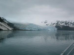 Aialik glacier from afar