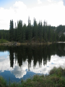Reflections in Horseshoe Lake