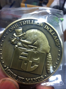 The coin, reverse.  Now we can raise the debt ceiling.