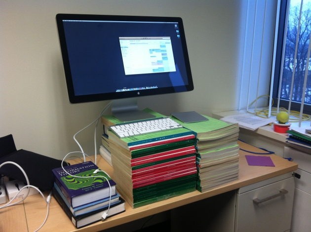 Standing desk made from IEEE Transactions